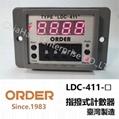 ORDER digital TIMER digital counter TYPE LDC-411 LDC-411-48 LDC-411-2 LDC-411-3 LDC-411-4 LDC-411-48