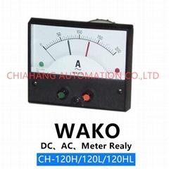 WAKO CH-120HL CH-100HL指针式电流控制表   直流/交流限流控制表