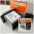 ORDER TYPE LDC-411 digital TIMER digital counter LDC-411-48 LDC-411-2 LDC-411-3 LDC-411-48