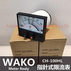 WAKO CH-120HL CH-100HL指針式電流控製表   直流/交流限流控製表