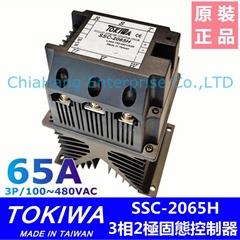 SSC-2065H 固态接触器 三相固态电译 TOKIWA  Solid State Contactor GROUP