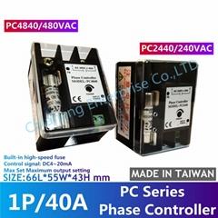 SCR简易型单相电力调整器 PC4840 PC2440