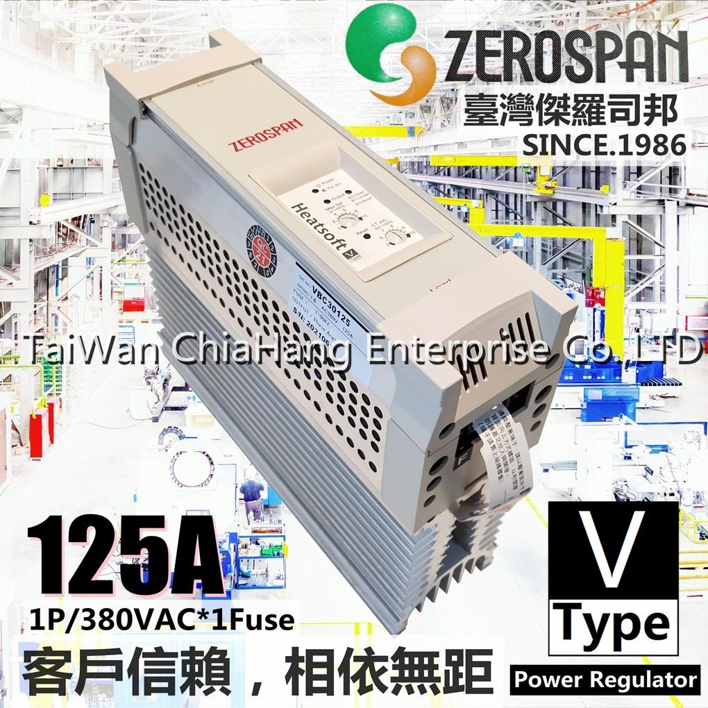 ZEROSPAN Power regulator SCR HEATSOFT VB10125 VB20125 VB30125 VB40125 VBC30125 VBC20125 FB30125 FB20125