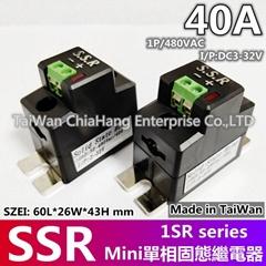 MINI SSR 单相固态继电器 1SR3840D 1SR3825D 1SR2240D