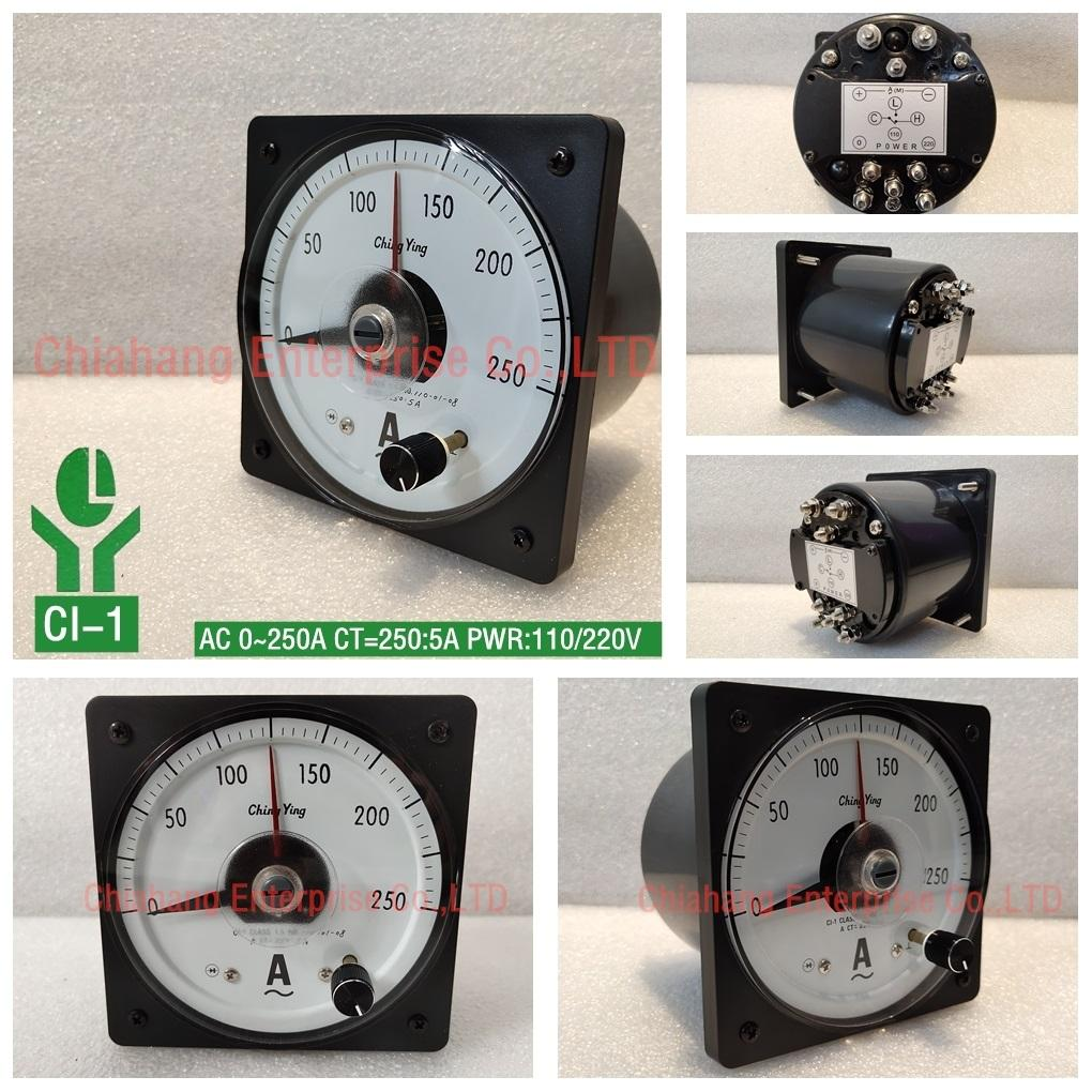 ChingYing  AMPERE METER CI-104 CI-1 400:5A 300:5A 200:5A CHING YING Control meter, ammeter, voltmeter, temperature control meter,
