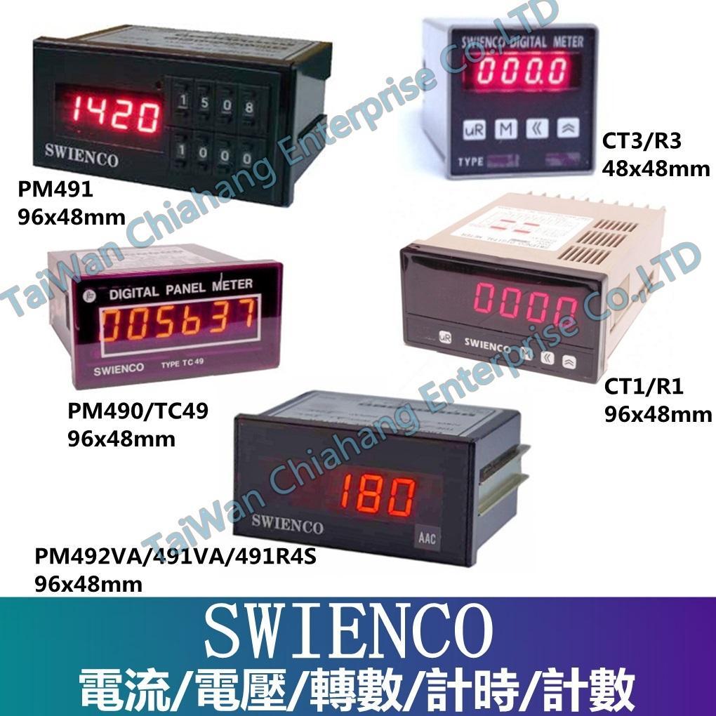 SAINT WIEN, TYPE H7N  H7A  H7K  H7M-6D6 H5CA  H5N SWIENCO SWIENCO Voltmeter/Ammeter/Tachometer/Timer/Counter