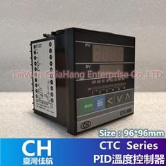 台湾CH CTC-900 PID 温度控制器 96*96mm 72*72 48*48