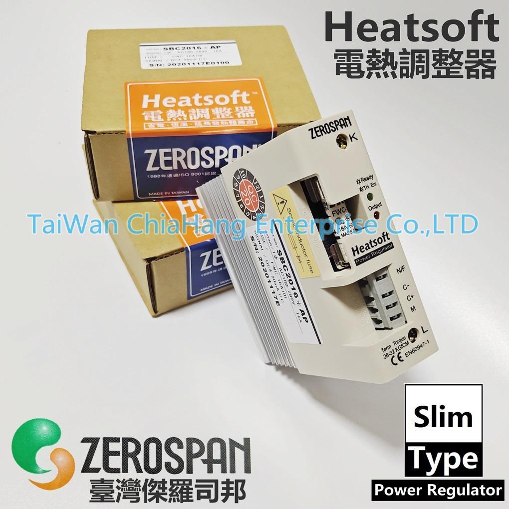 ZEROSPAN SBC2016*AP  SB2016*AP SB2016*FP SB2016*BP SB4016*AP SB2016*AY HEATSOFT  TAIWAN SCR Power Regulator