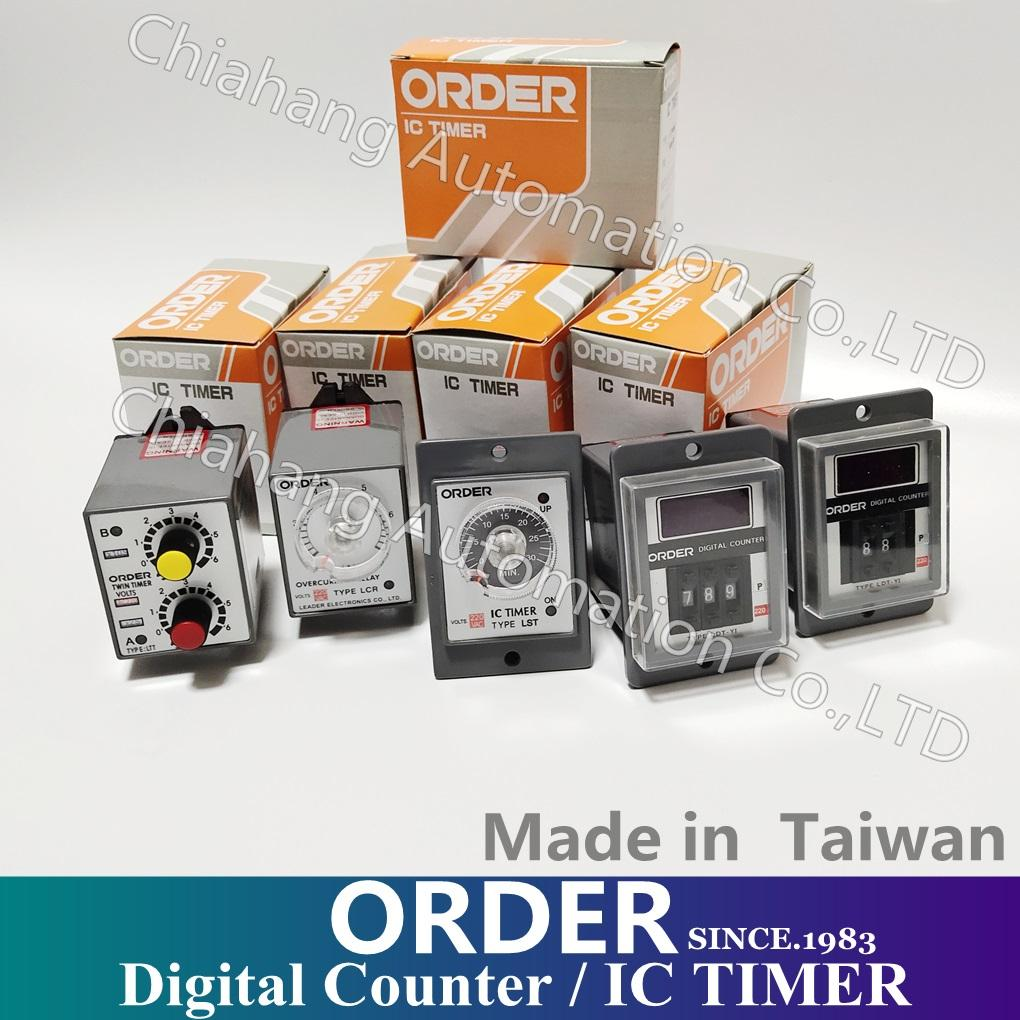 CHINA ORDER TWIN TIMER Digital Counter / IC TIMER TYPE LTT LST LS-3 LS-5 LSD LFT LOF CONNECTION DIAGRAM