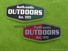 彩色硅胶商标标牌