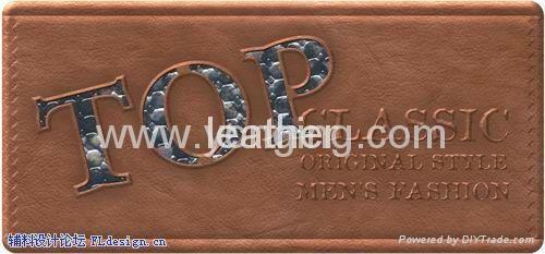 leather label logo