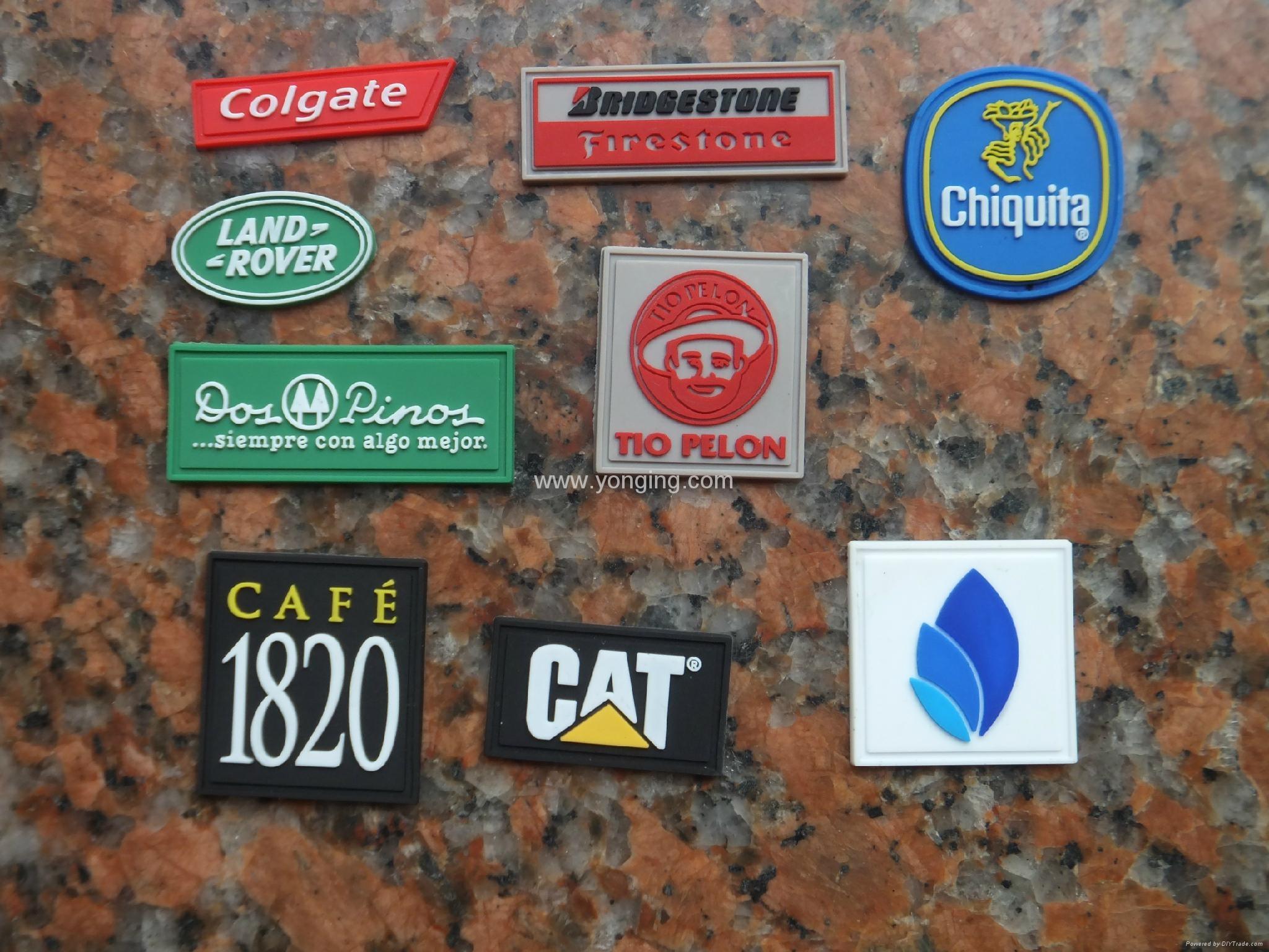 silicone label logo