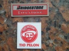 3D红白印硅胶标签、标牌