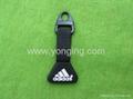 Sport Brand rubber zipper puller