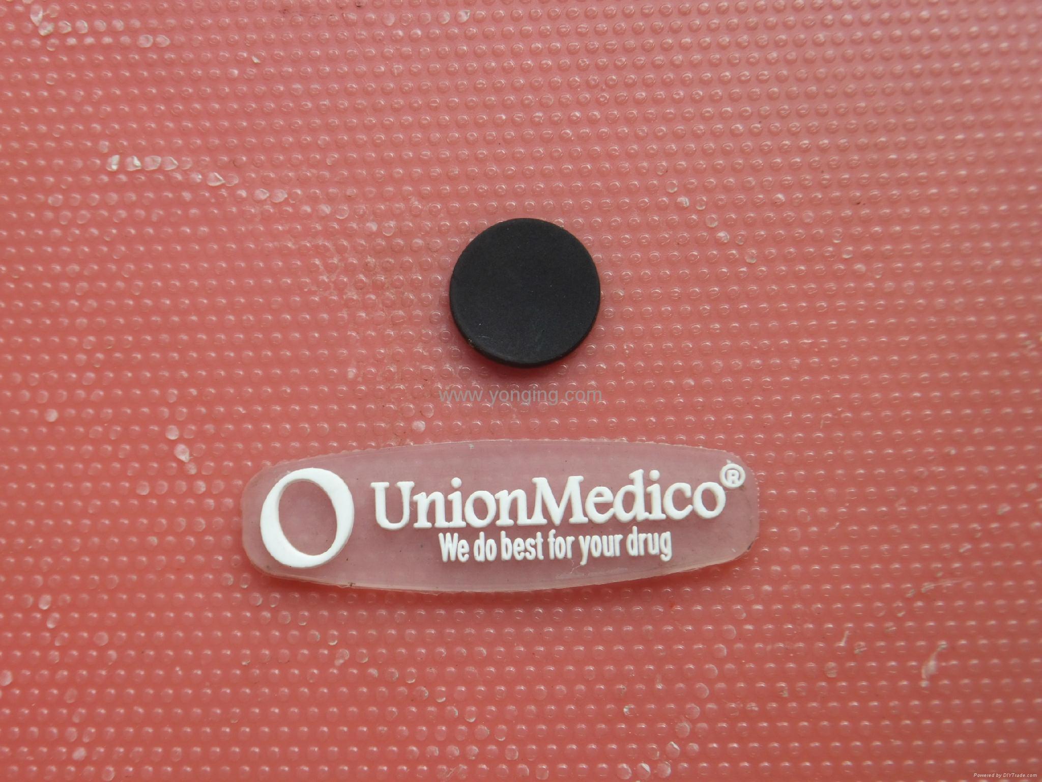 silicone rubber label