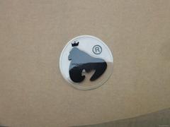透明硅膠標牌 硅膠標籤 硅膠商標