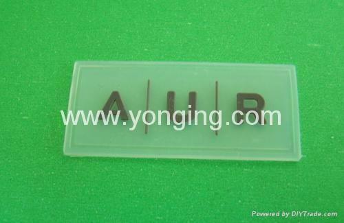 silicone label,clear label logo