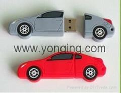 Cool Car Plastic USB
