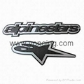 Rubber patch logo user Auto
