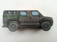 車造型硅膠儿童玩具