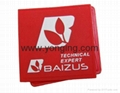 Sport Red Rubber Lable