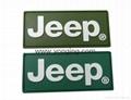 Auto Brand Logo Silicone Label