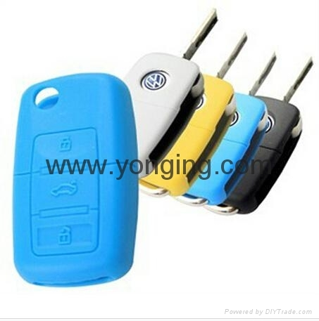 Car Key Covers Silicone Auto Key Sleeve