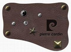 leather label,logo