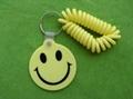 笑臉pvc 鑰匙扣