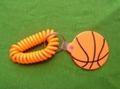 籃球pvc 鑰匙扣