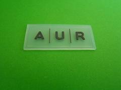 透明硅胶商标牌