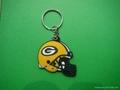 ,NFL,pvc keychain,