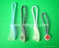 YKKrubber zipper puller /Sunice