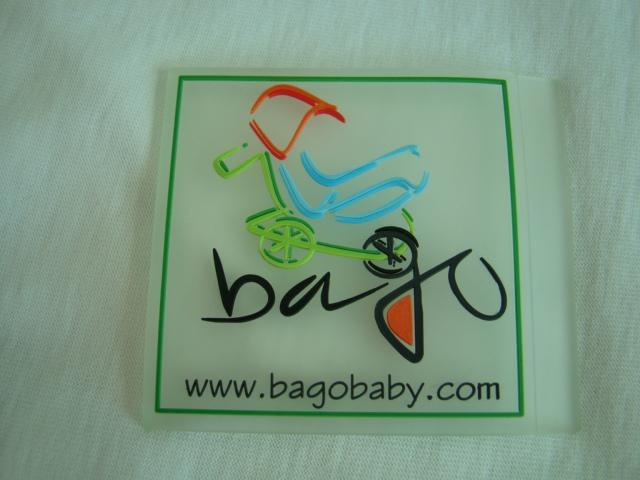 Silicone transparent,clear embossed label 2