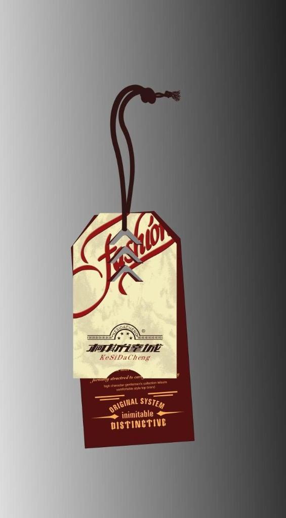 fabric,brown paper hangtags 1
