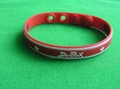 RED silicone band ,