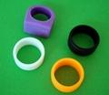 彩色時尚運動系列硅矽膠商標 4