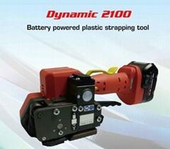 新型進口塑鋼帶手提式電動打包機