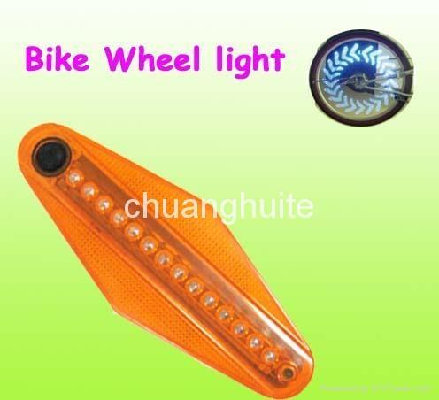 Bike Bicycle Flash LED Tire Wheel Spoke Light  1