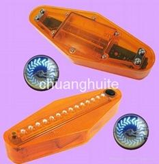 Bike Bicycle Wheel Waterproof 14 Spoke LED Lights Lamps