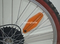 Bike Bicycle Wheel Spoke 14 LED Blue Light 40 Patterns 4