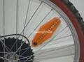 14 LED 40 Light Patterns Bike Bicycle Wheel Spoke Blue 4