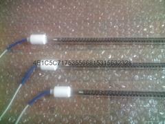 Infrared quartz heating tube