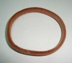 植绒橡筋圈