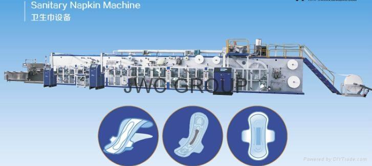Auto shifting Sanitary napkin machine 1