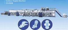 高速全自動換檔婦用衛生巾生產線