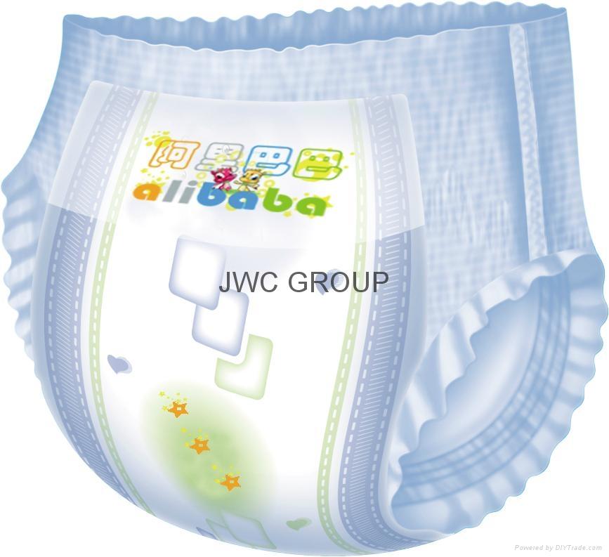 pull up baby diaper machine training pants machine ...