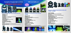 LED MINI SPOT MOVING HEAD
