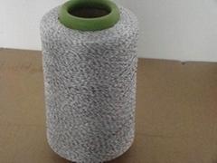 超高分子量聚乙烯纤维氨纶包覆纱