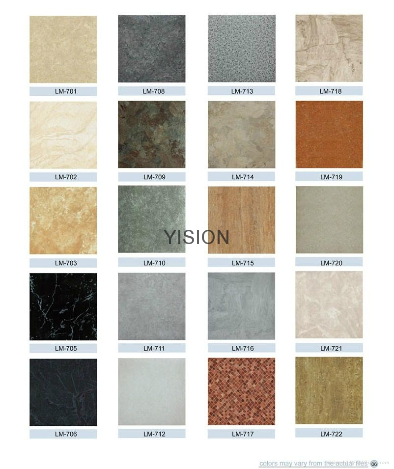 Marble Series Pvc Vinly Floor Tiles China Manufacturer